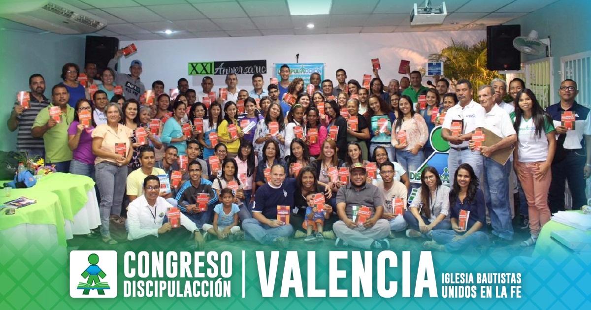 ¡CONGRESO DISCIPULACCIÓN VALENCIA! (IBUF)
